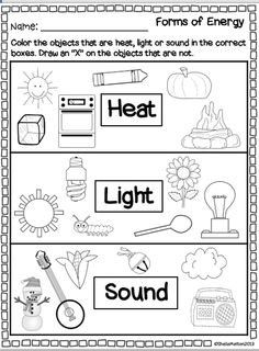 light science grade 1 worksheets - Google Search