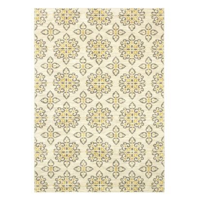 rugs grayyellow living room shaw living global tile gray yellow