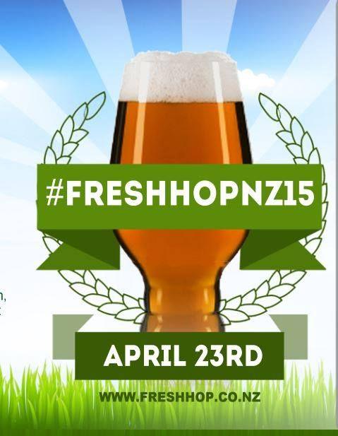 FreshHopNZ15 Awards Ceremony – Friday 1st May 2015