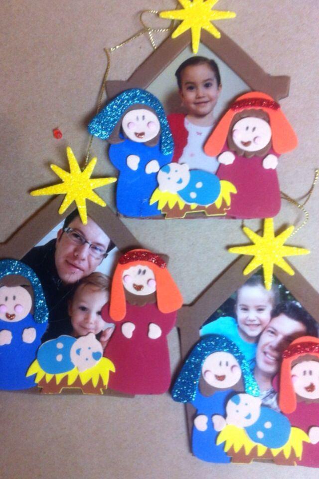 Portarretratos #dentrodelportal #manualidad #niños #navidad