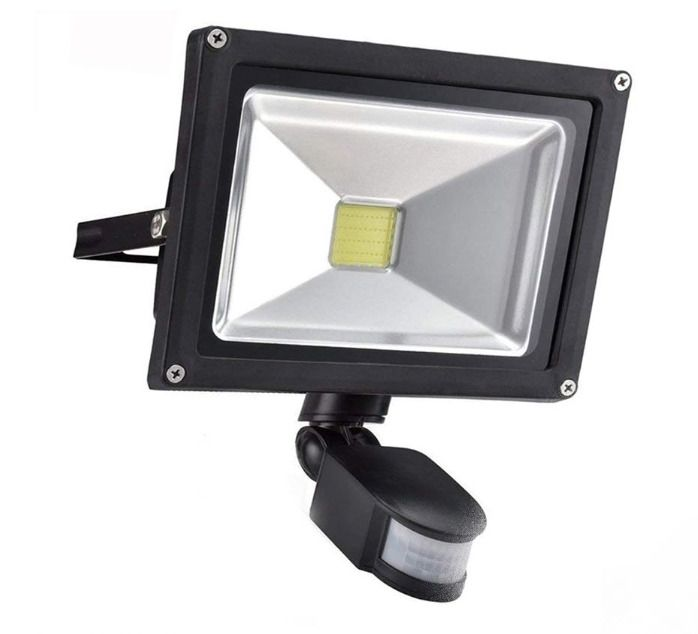 Smart And Sensitive Detector Settings Luminous Flux 4000lm Projection Distance Up To 15m 49ft Easy To Insta Flood Lights Led Flood Lights Solar Spot Lights