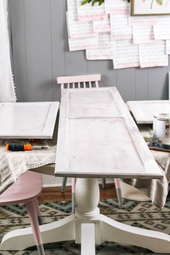 how to paint cabinets with latex paint at home with ashley blog rh pinterest com