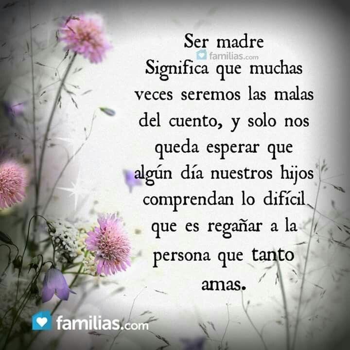 Ser MADRE...!