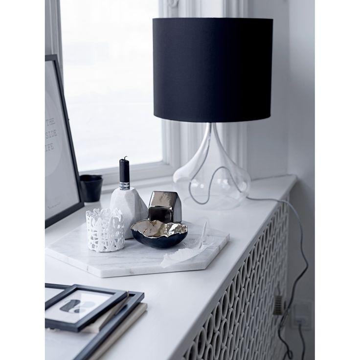 Marble Hexagon tray – Bloomingville #marble #interior #design