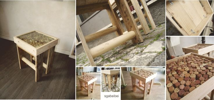"""""""Sgabeibei"""" drink a lot and sit on it...from pallet in your garden"""