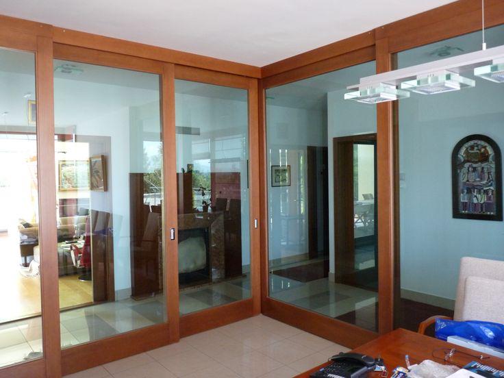 színfurnéros minimal beltéri saroktoló ajtó