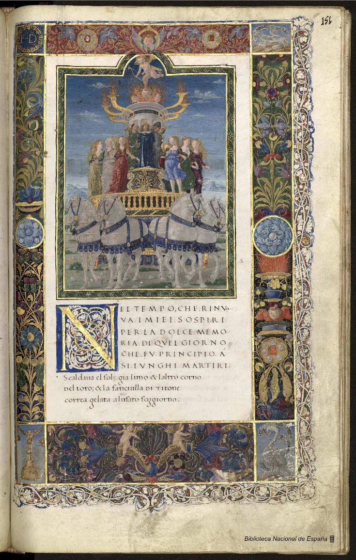 Obra poética. Petrarca, Francesco 1304-1374 — Manuscrito — 1401-1500?