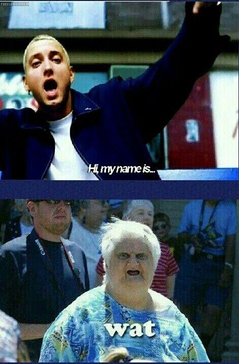 Eminem Meme -My Name Is WhAt?