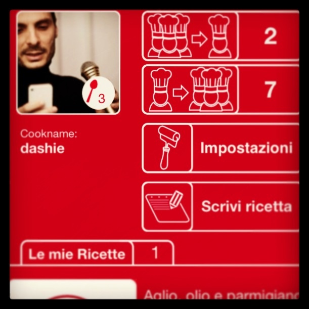 Preview.. My profile.. #app #acook #apple #arianna #appstore #ariannanet #cook #cucinareconacook #ricette #ios #iphone #friends #life #mobile
