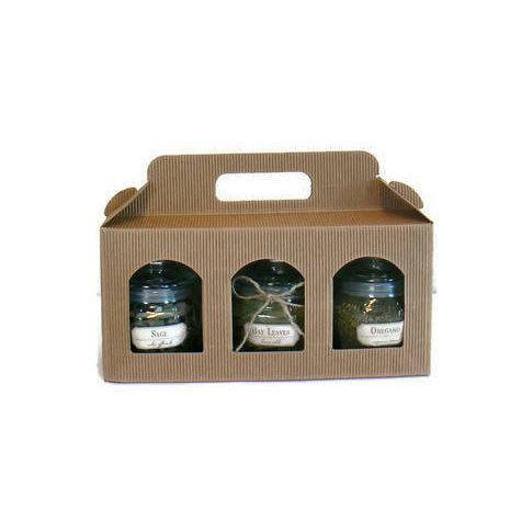 Herbs Set Herb Jars-Greek Organic Herbs Vegan Food Gift
