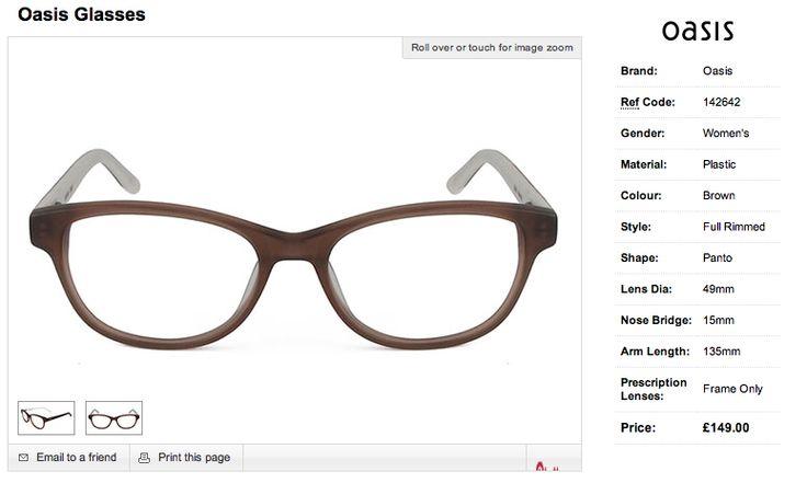 Oasis glasses