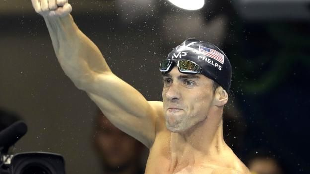 Rio 2016: Michael Phelps extends his tally to 21 Olympic golds - BBC Sport