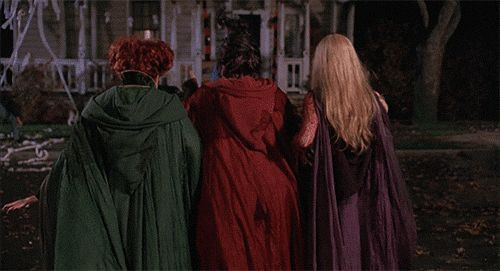 "And when the witches gave us the most legendary shade ever. | 29 Times ""Hocus Pocus"" Was The Best Halloween Movie Of All Time"