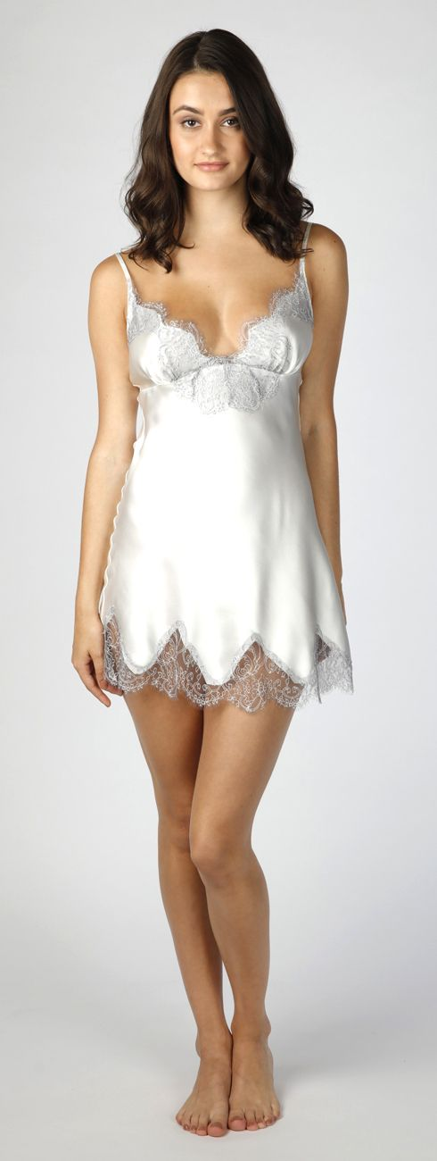 A summery negligee for a bride, or anyone who wants to feel beautiful. #Christine