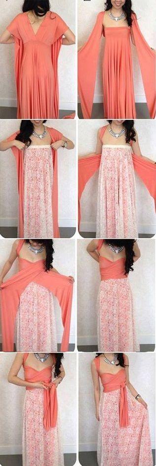 Maxi Convertible Multi Way Dress