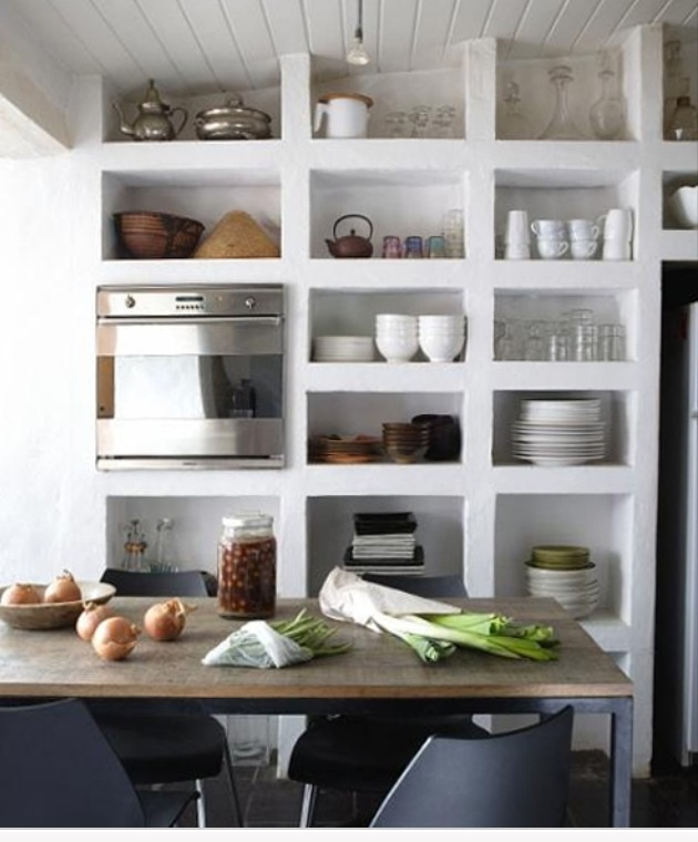 Open Kitchen Shelves Instead Of Cabinets: Pin By Suzie Gomez On Home Is Where The Heart Is