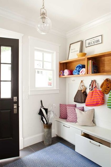 How often can one say a mudroom is pretty?.... Pretty contemporary mudroom entry by TerraCotta Properties