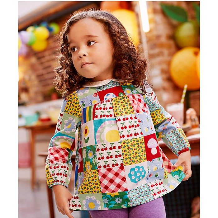 Mothercare Little Bird by Jools Patchwork Blouse