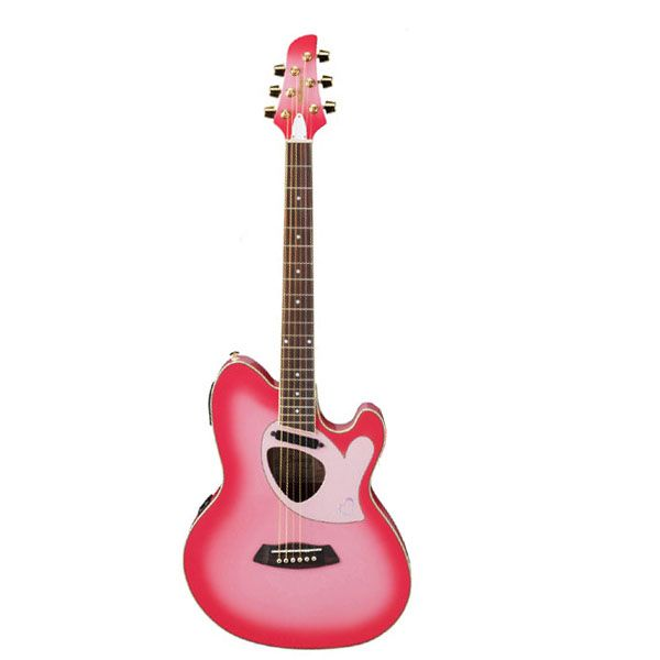 acoustic electric guitar ibanez tcm60pk talman double cutaway acoustic electric guitar. Black Bedroom Furniture Sets. Home Design Ideas