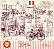 Paris bistro Royalty Free Stock Photos