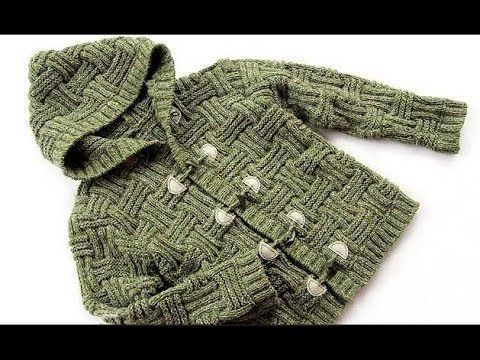How to knit this aran stitch - YouTube