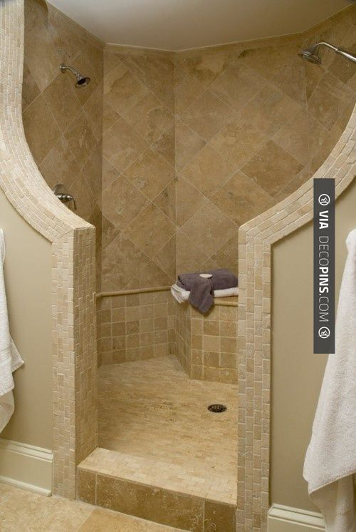 Awesome! - Glass-less... no cleaning the shower door/tracks | CHECK OUT MORE…