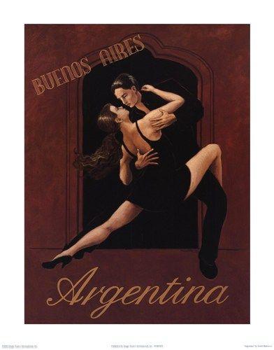 Argentina Art Print by David Marrocco