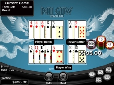 Try a new game!  Pai Gow