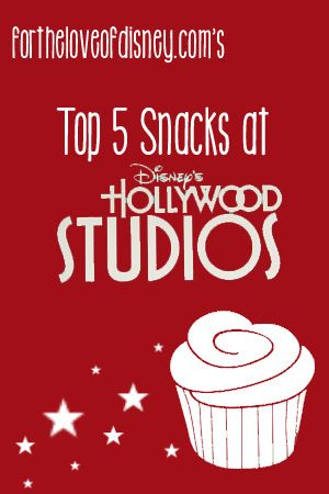 A roundup of the best snacks at Disney's Hollywood Studios!