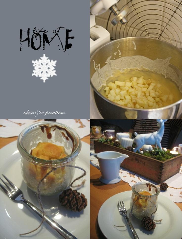 Enie van de meiklokjes kuchen im glas