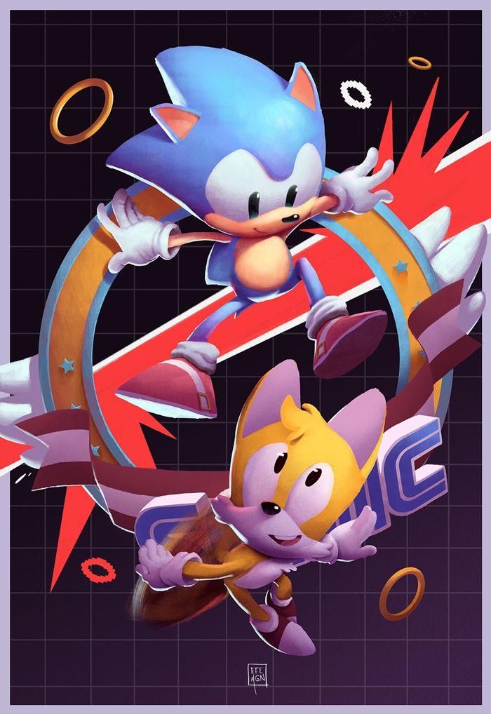 Sonic 2 Art by Felipe Magaña