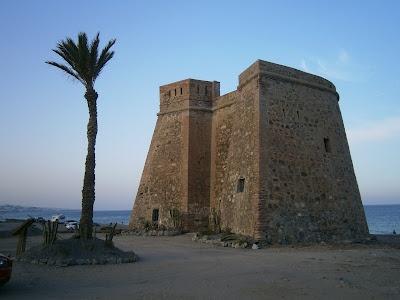 Castillo de Macenas. Mojacar (Almería)