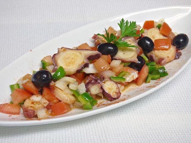 Salpicón de Pulpo - Mis Cosillas de Cocina