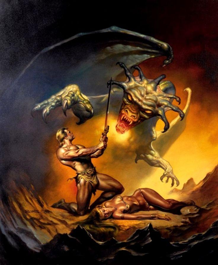 Boris vallejo 1990 fantasy art pinterest artworks