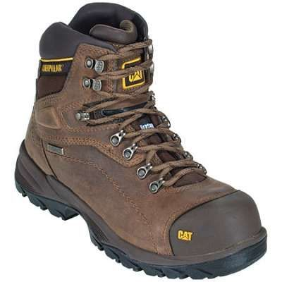 Caterpillar Boots: Men's Brown 89940 Diagnostic HI Insulated Waterproof Steel Toe Hiking Boots #CarharttClothing #DickiesWorkwear #WolverineBoots #TimberlandProBoots #WolverineSteelToeBoots #SteelToeShoes #WorkBoots #CarharttJackets #WranglerJeans #CarhartBibOveralls #CarharttPants