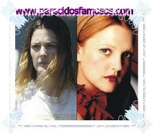 Parecidos con famosos: Drew Barrymore sin maquillaje