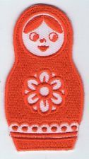ECUSSON PATCHE  THERMOCOLLANT PATCH GIRL POUPEE RUSSE