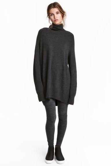 Jersey leggings - Dark grey marl - Ladies | H&M CA