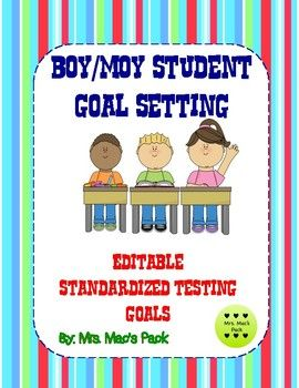 Looking for a way to have your students take ownership of their standardized testing goal each week? In my classroom, we use this Student Goal Setting sheet each week to record what skill we are mastering as we are working toward our goal. This is an *editable* document in Word and a Google Doc with a Google Classroom Link as well.
