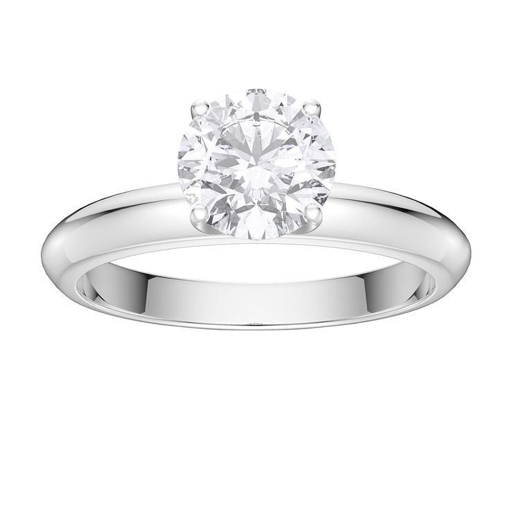 Buy Unity 1ct White Sapphire Silver Promise Ring (WHITE GOLD), R71708Z - £100 from Jian London. Free Delivery on all orders.