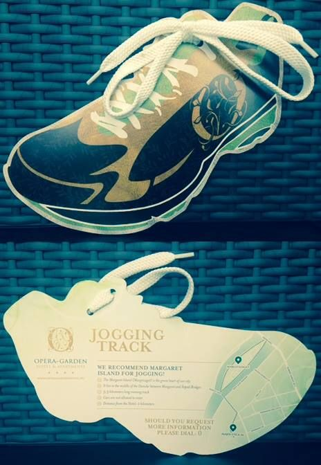We place this brochure in all our rooms to show our guests the best place for jogging.