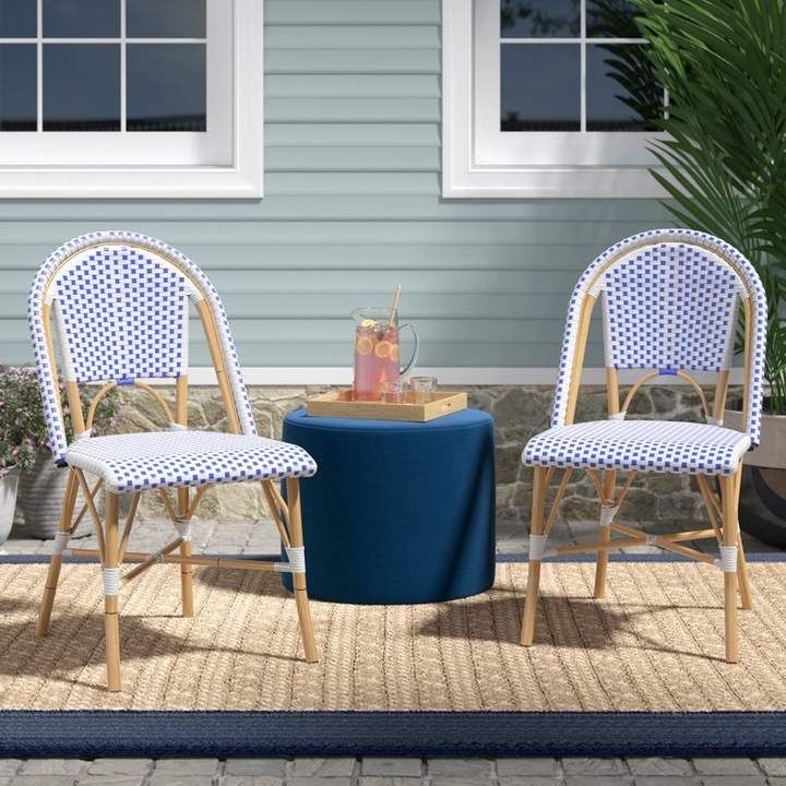Beachcrest Home Lucia Stacking Patio Dining Chair In 2019