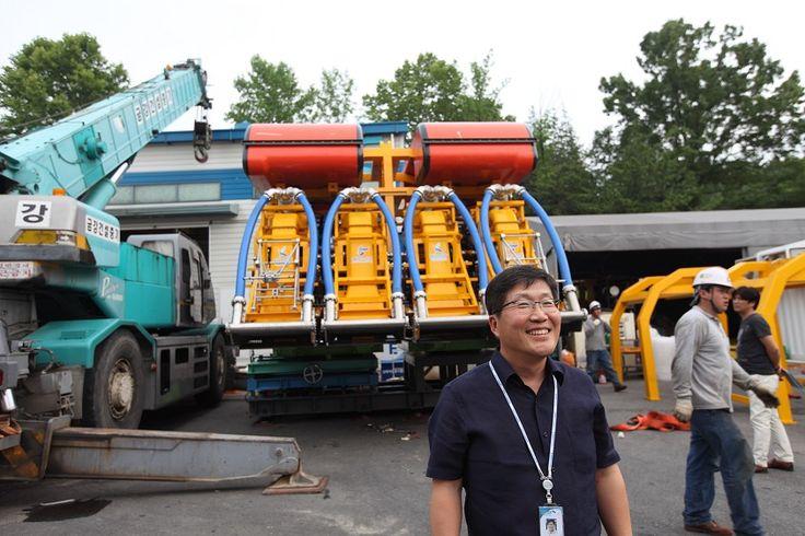 해저자원 채광로봇 미내로