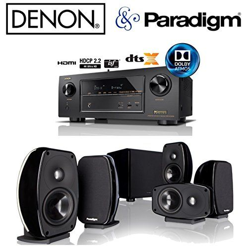 Introducing Denon AVRX2300W Receiver Bundle with Paradigm Cinema 100 CT Home Theater System. Great product and follow us for more updates!