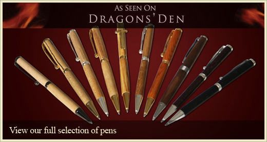 Handmade Wooden Pens by Donegal Pens