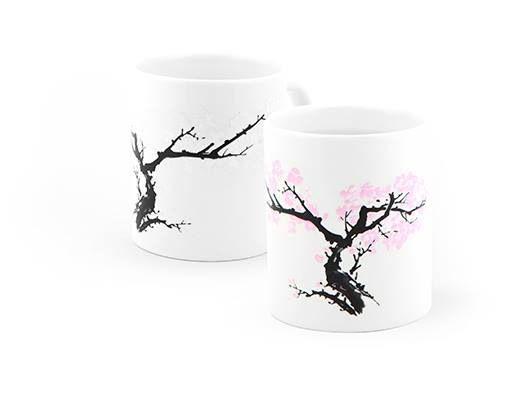 Beschrijving Schenk uw favoriete warme drank in en de japanse boom krijgt zijn bloesem.   #kikkerland #cadeau #mug #morph #koopgoot #rotterdam #blossom