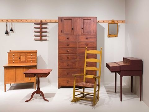 The Exhibit Shakers And Movers At The Art Institute Of Chicago Shows The  Virtue And Beauty · Shaker FurnitureThe ... Images