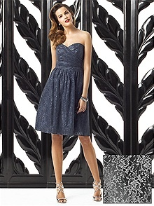 Dessy Collection Style 2865 #black #bridesmaid #dress