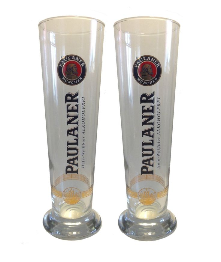 "Paulaner - 2 bicchieri di birra 0,5 litri - ""Weizen"" - NUOVO in | eBay"