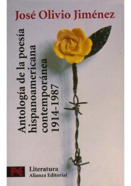 El criterio de JOSÉ OLIVIO JIMÉNEZ al concebir esta ANTOLOGÍA DE LA POESÍA HISPANOAMERICANA (1914-1987), ya clásica, fue renunciar a una desmesurada extensión del panorama de nombres y corrientes, que la hubieran convertido en un muestrario inoperante, y dedicar a los creadores incluidos en la recopilación el espacio suficiente para que sus voces puedan ser debidamente apreciadas.